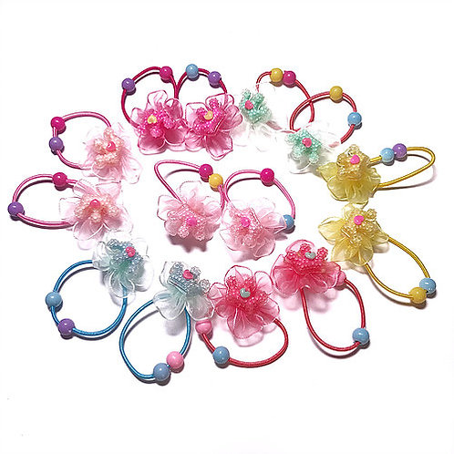 Crown Lace Flower Elastic Pack