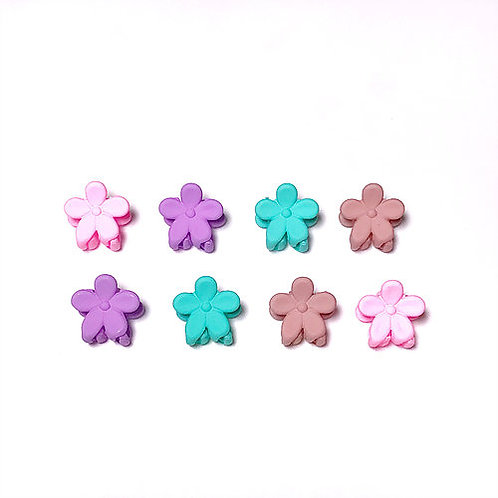 Mini Flower Messy Hair Claws