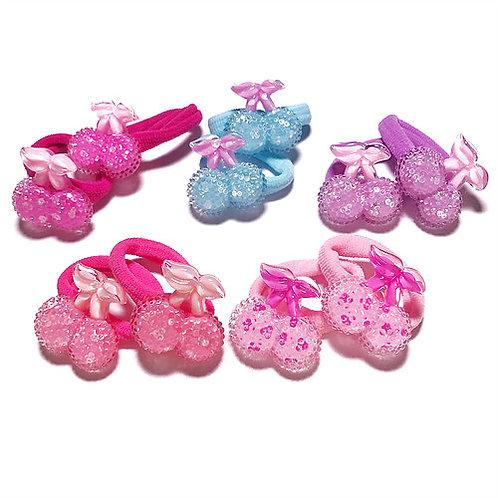 Glitter Cherry Elastic Pack