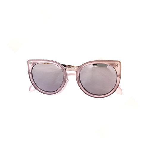 Gray & Black Mirror Reflective Fashion Kids Sunglasses Polarised&UV protection