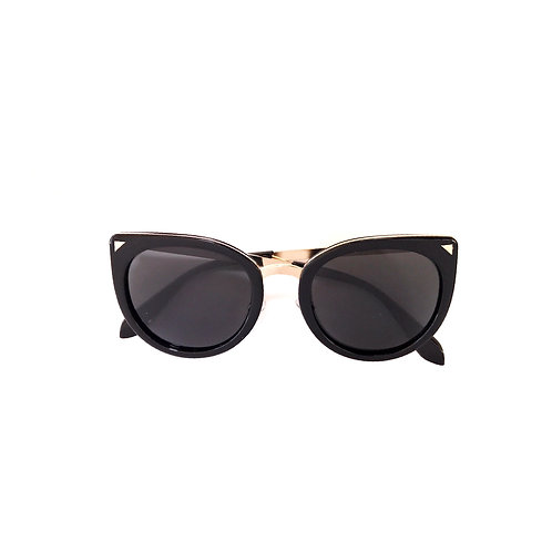 Black Fashion Kids Sunglasses Polarised&UV protection