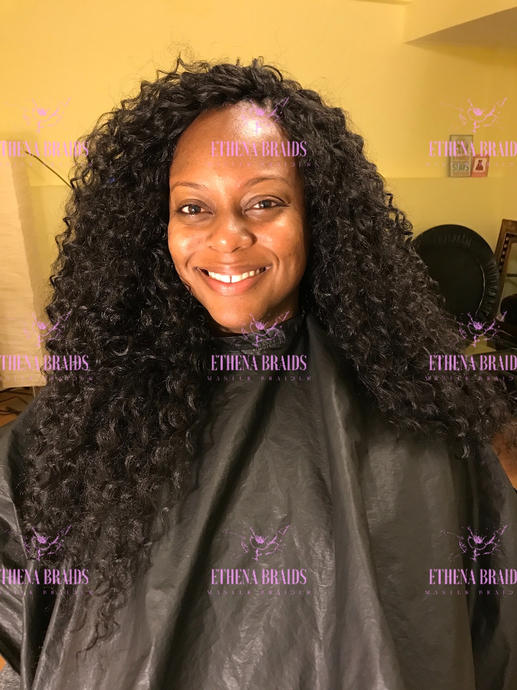 Tree Braids with deep wave - extra long