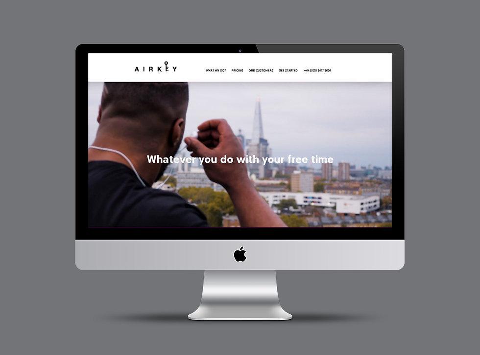 Airkey website