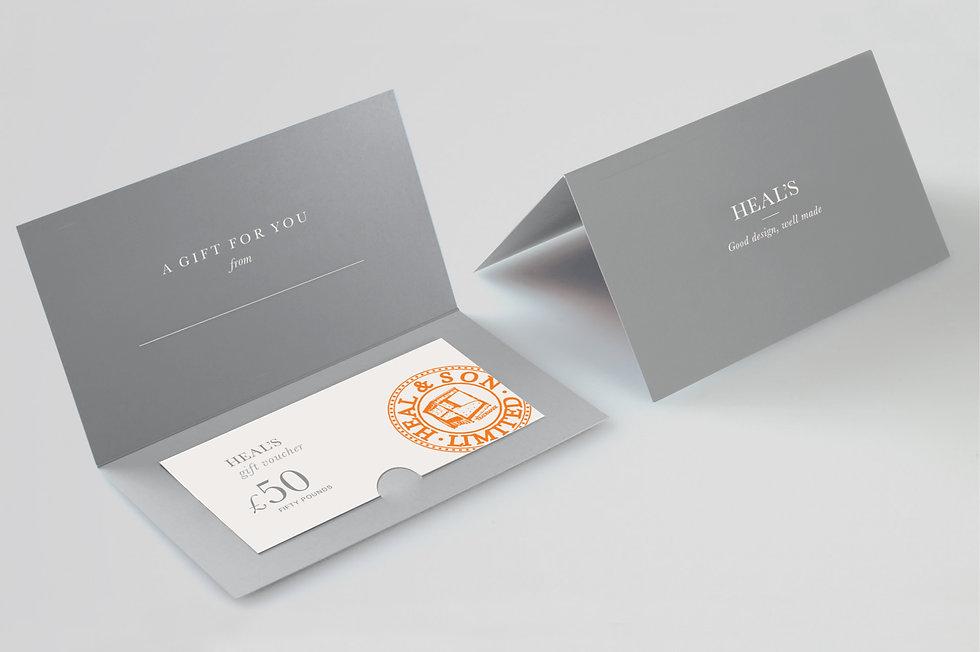 Heal's gift card