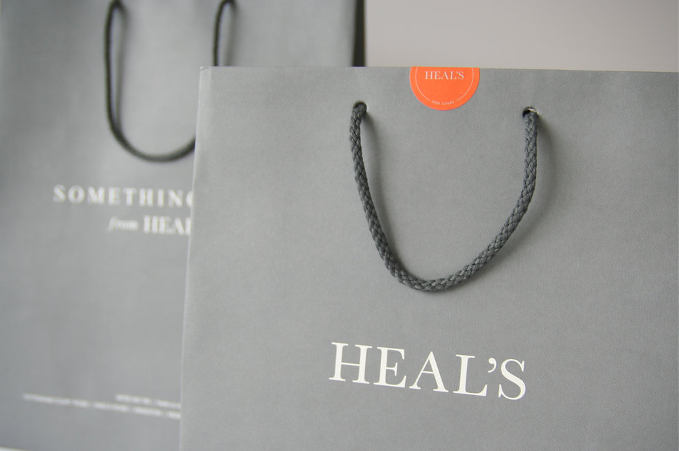 Heal's shopping bag