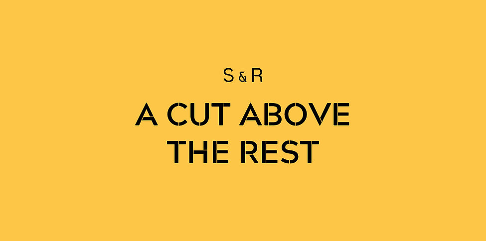 A cut above the rest. S&R Cutting Formes