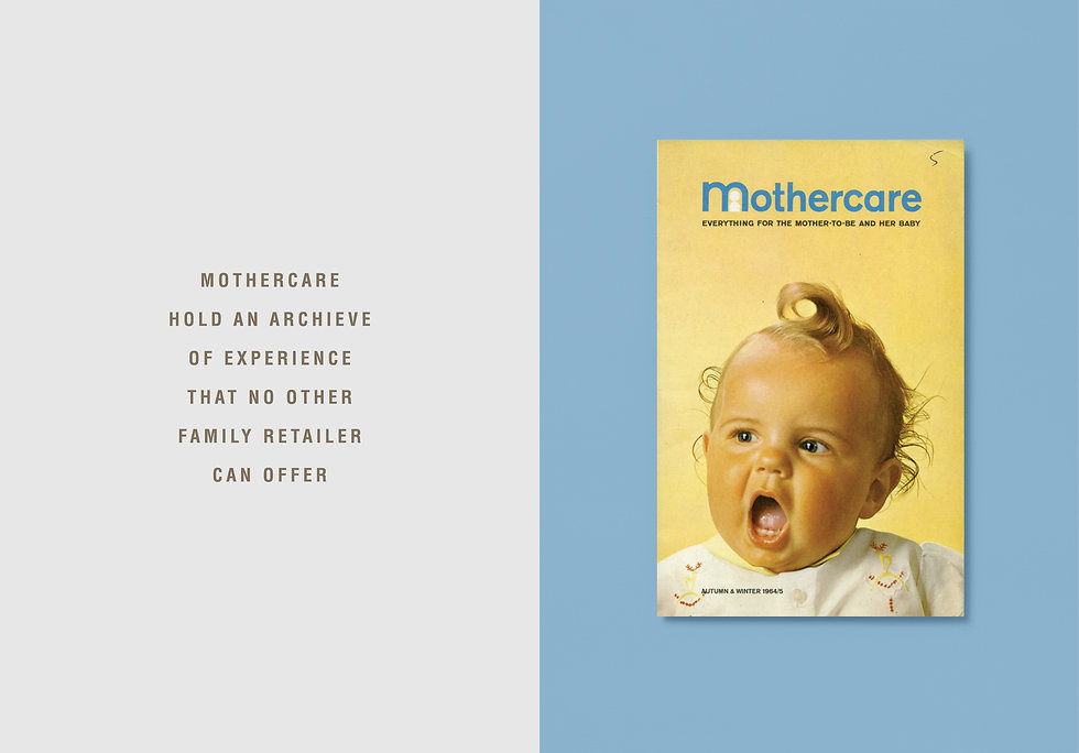 Vintage Mothercare catalogue brochures