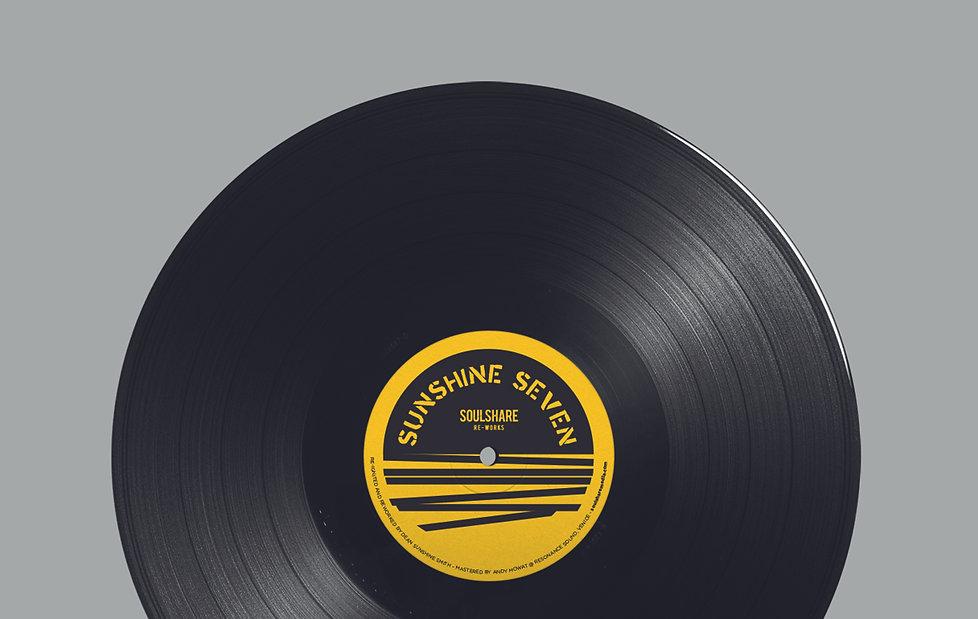 Soulshare: Sunshine Seven LP artwork