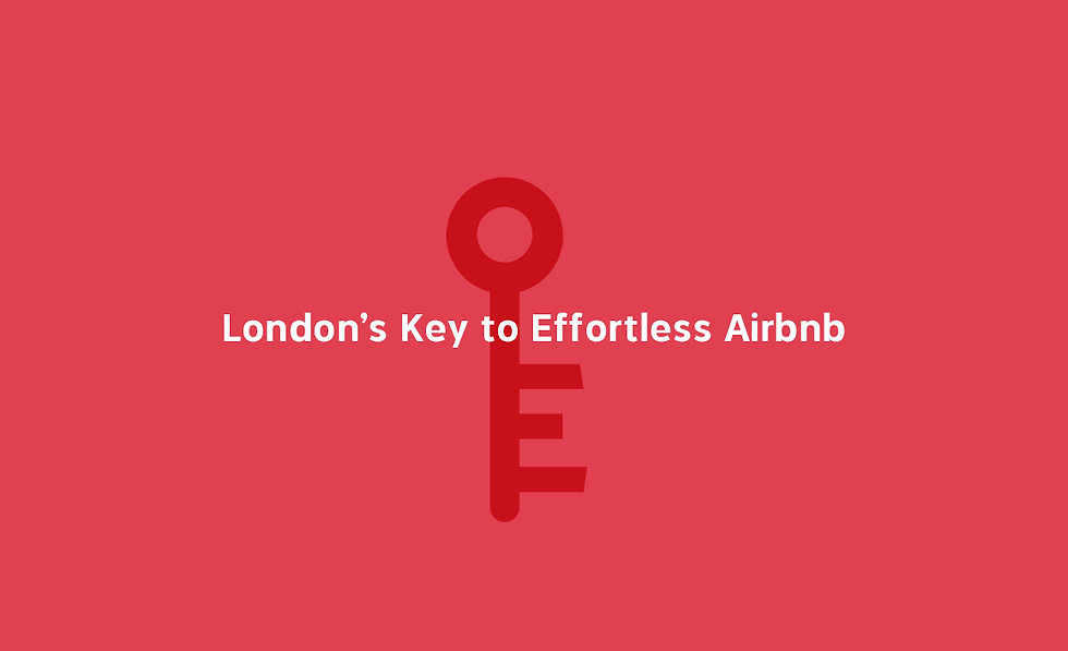 London's key to effortless Airbnb