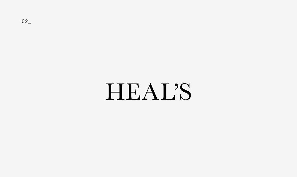 02_ HEAL'S high-end furniture company