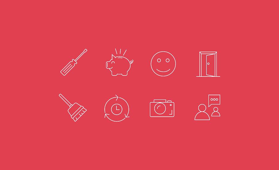 Airkey brand icons