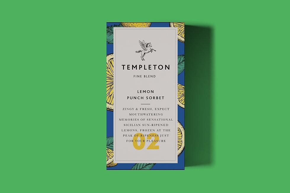 Templeton Fine blend packaging