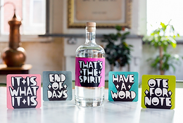 Kid Acne signed a bottle of Sheffield Dry Gin – That's The Spirit ArtWorks auction