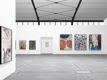 JOHNSEY X ArtWorks view of exhibition