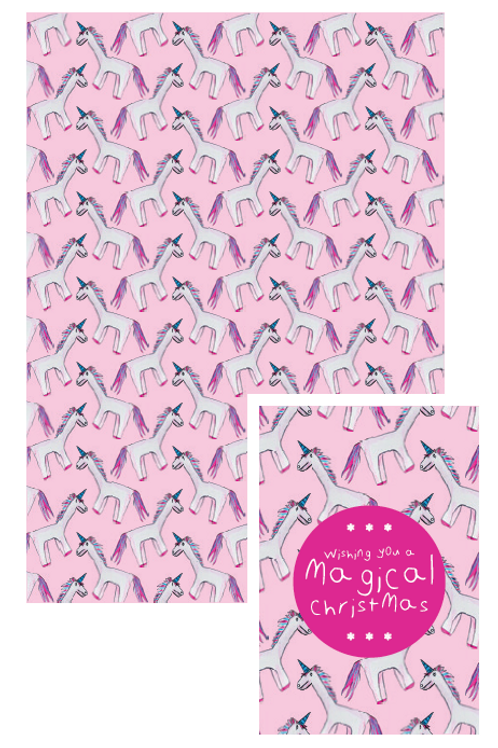 Unicorn gift tags