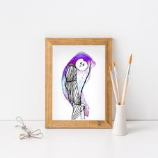 Owl - Abid Ali