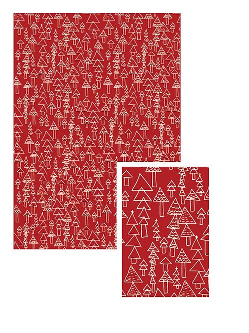 Scandi tree gift tags