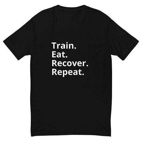 Train Eat Recover Repeat - Men's T-Shirt