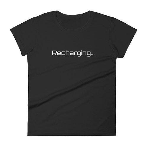 Recharging... - Women's T-Shirt