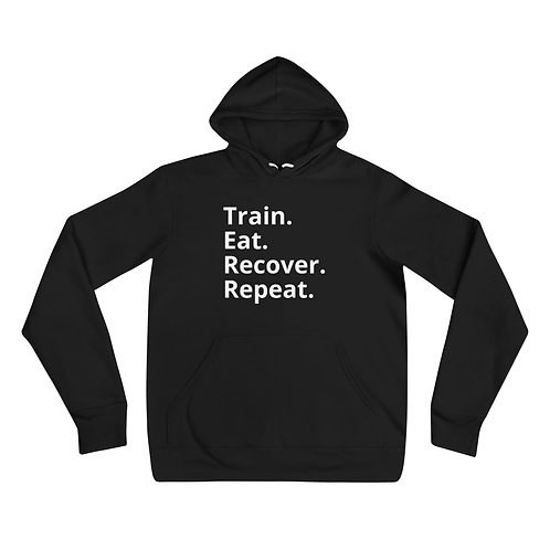 Train Eat Recover Repeat -  Unisex Hoodie