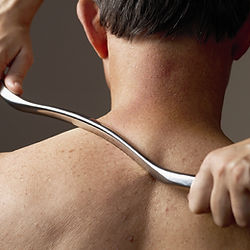 link to graston technique services page to describe graston technique therapy and assisted soft tissue mobilization