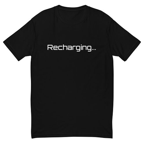 Recharging - Men's T-Shirt