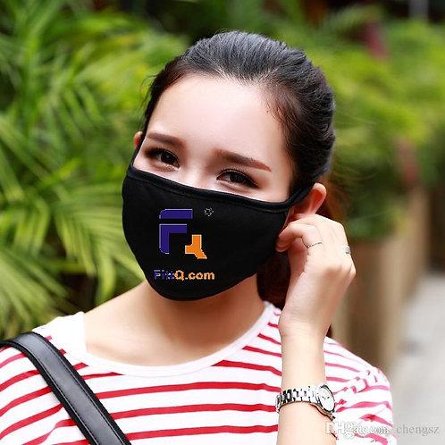 3 PCs of FittQ branded Black Mask