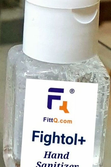 FittQ Fightol+ with 70% Alcohol