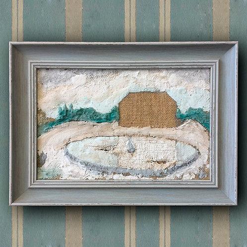 """Картина """"Забытый дом"""" 15 000 руб."""