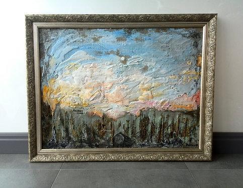 """Картина """"Ранняя луна"""" 30 000 руб."""