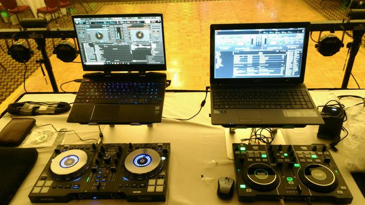 DJ Chris Preston Double Controllers