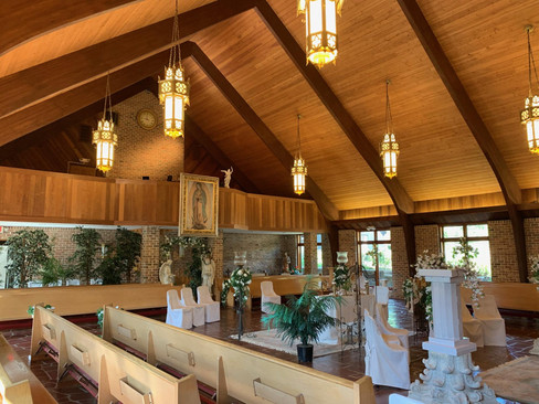 The Throne Room of Temple Beth Melchisreal