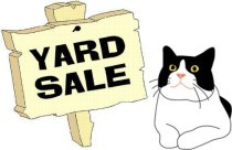Spring yard sale set for May 12th, 2018!