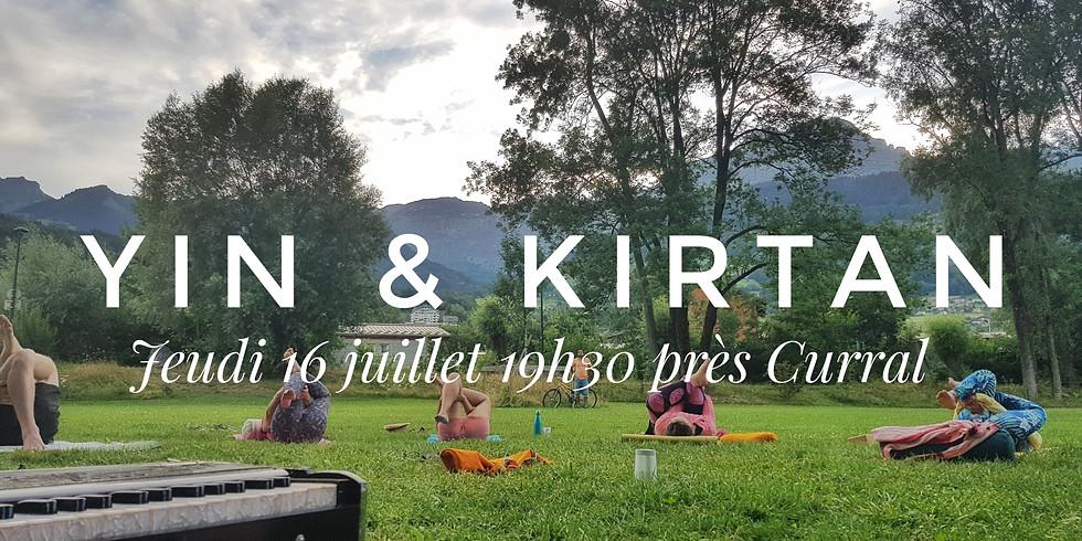 Yin yoga & kirtan