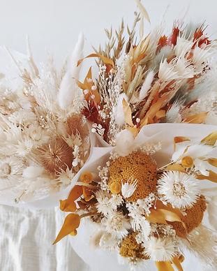 bouquet fleurs séchées atelier lunaria