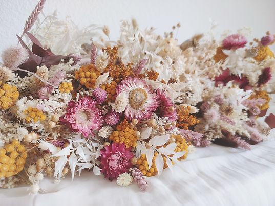 atelier lunaria fleuriste fleurs séchées pays basque