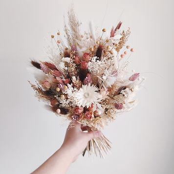 Mariage fleurs séchées pays basque