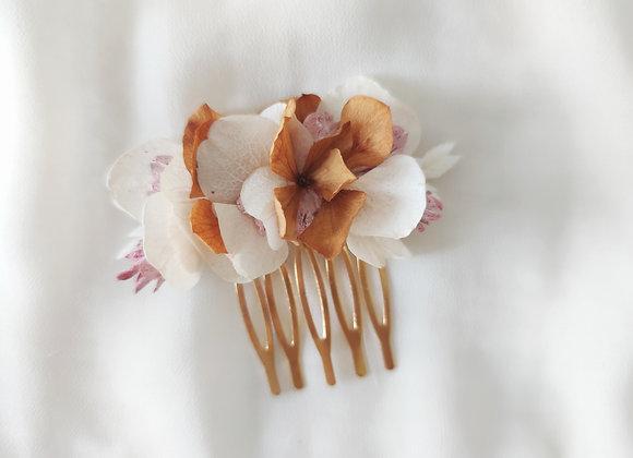 peigne fleurs séchées atelier lunaria