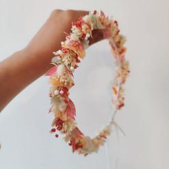 Couronne fleurs séchées corail.jpg