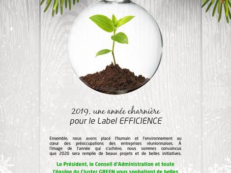 2019, une année charnière pour le Label Efficience