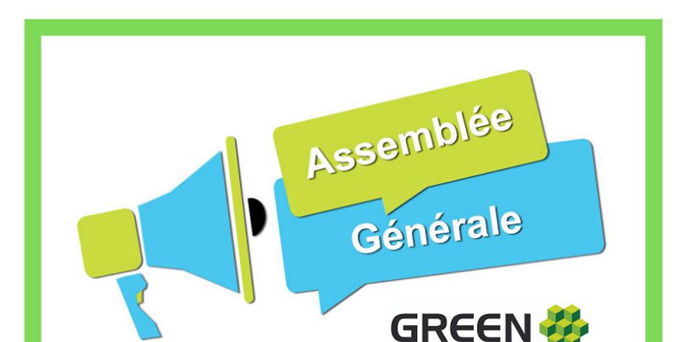 AG 2019 du Cluster Green