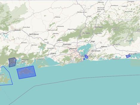 Mapas de Ciência Cidadã no RJ.