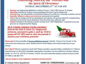HO! HO! HO! For Veterans  13 December  This Is Awesome!