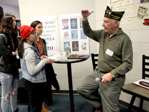 Local Vietnam Vets Bring History to Life for St. Charles North Students