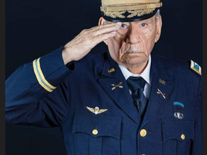 The Village of South Elgin Recognizes WWII Veteran's 94th Birthday