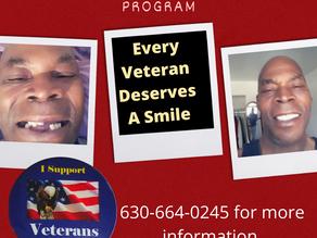 Veterans Smile Program Critical Dental Care for Program Eligible Veterans