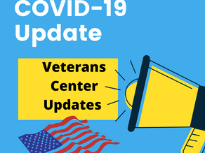 Updates on Covid Restrictions For Veterans Center