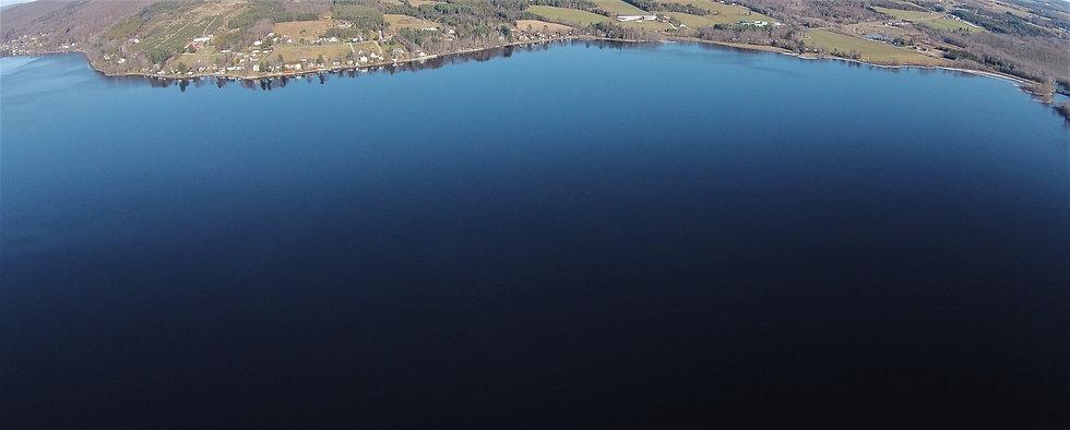 Vue magnifique sur le lac