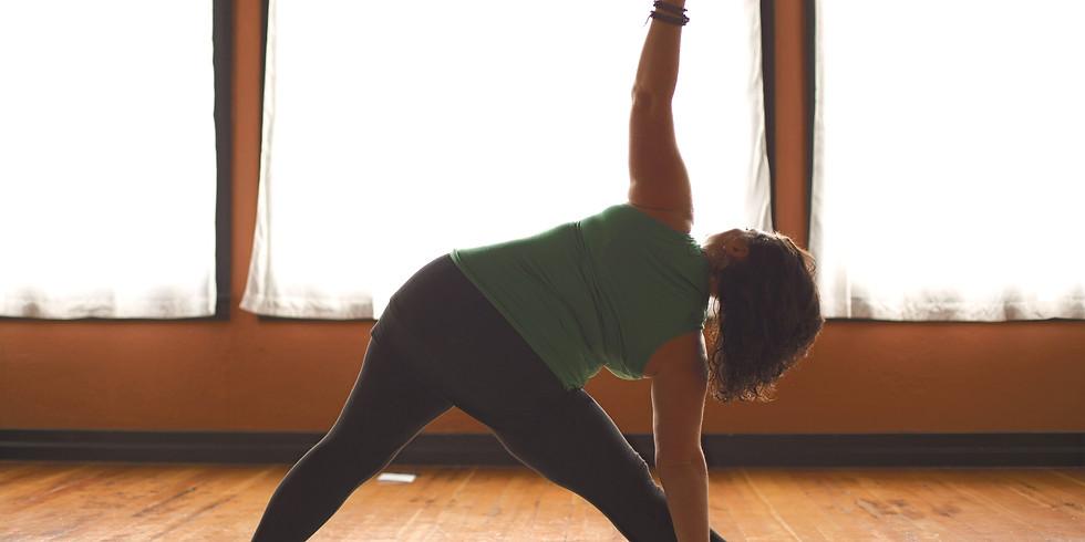 Tuesday Evening Live Yoga via Zoom