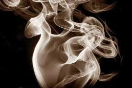 Grabbing Smoke.